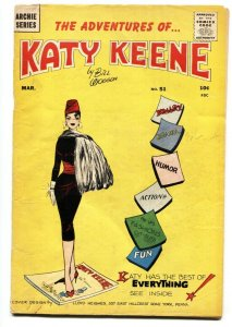 Katy Keene #51 1960- Bill Woggon- comic book-Katy Infinity cover