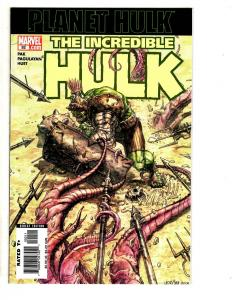 The Incredible Hulk # 92 NM 1st Print Marvel Comic Book Planet Hulk CR45