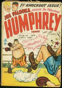 HUMPHREY #1 1948-JOE PALOOKA-POWELL ART-HARVEY COMICS VG