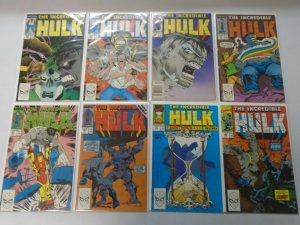 Incredible Hulk lot 38 different from #350-400 avg 8.0 VF (1988-92)