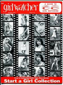 Girl Watcher 3/1959-1st issue-Mamie Van Doren-cheesecake-June Wilkinson-VF