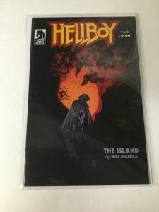 Hellboy The Island 2 Nm Near Mint Dark Horse Comics
