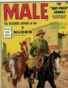 6 Magazines Male Bizarre Affair Hot Rod Automotive '76 Motor Trend 1969 + JK36