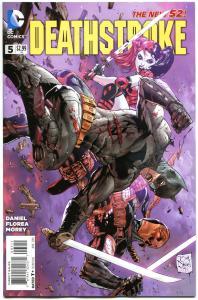 DEATHSTROKE #5, NM, Harley Quinn, 2014, New 52, Variant, Batman,more HQ in store