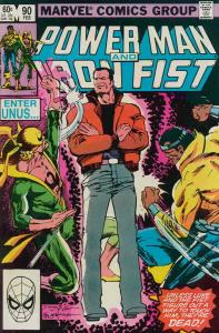 Power Man & Iron Fist #90 VG; Marvel | low grade comic - save on shipping - deta