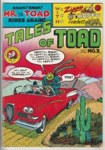 Tales Of The Toad #3 (Jan-73) VF/NM Mid-High-Grade Mr.Toad, Zippy The Pinhead