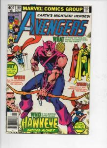 AVENGERS #189, VF,  Hawkeye, Thor, Vision, 1963 1979, more Marvel in store
