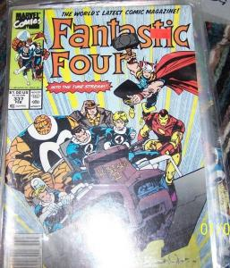FANTASTIC FOUR #337  Marvel  COPPER AGE  THOR IRONMAN