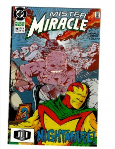 Mister Miracle #24 (1991) SR8