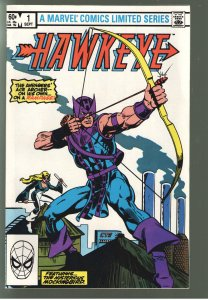 HAWKEYE1-4 1983 60% OFF RETAIL OF 50.00!!!! OR MORE