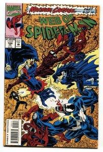 Web Of Spider-Man #102-Maximum Carnage-Venon-Marvel NM-