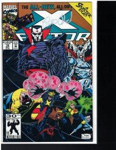 X-Factor #78 (Marvel, 1992) AUTO - Peter David