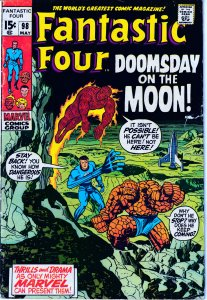 Fantastic Four(vol. 1) # 98  Return to the Moon !