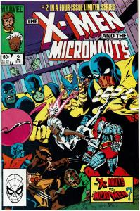 X-Men and the Micronauts #2, 9.0 or Better