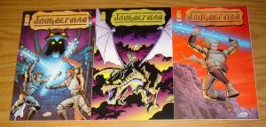Journeyman #1-3 VF/NM complete series - image comics - brandon mckinney set lot