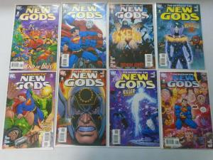 Death of the New Gods set #1-8 8.0.VF (2007)
