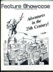 Feature Showcase Buck Rogers Dailies reprints 1974