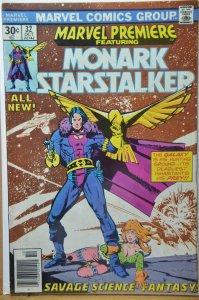 Marvel Premiere #32 (1976) Monark Starstalker !!