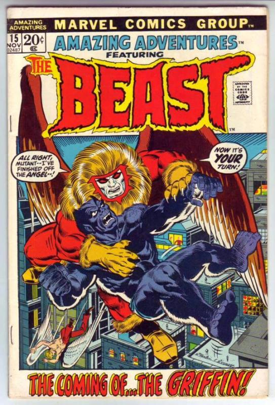 Amazing Adventures #15 (Sep-71) VF High-Grade The Beast