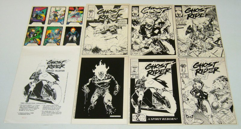 Ghost Rider Keepsake Collection - marvel comics portfolio set (#4,531 of 5,000)