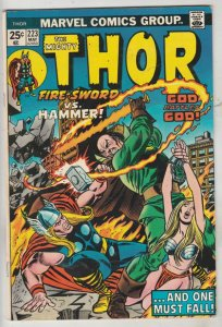 Thor, the Mighty #223 (May-74) VF/NM High-Grade Thor