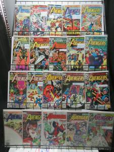 Avengers (Marvel 1980-1986) Mini-Library Lot of 37Diff from #201-265 Classics!