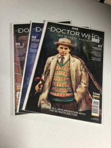 Doctor Who 1-3 Nm Near Mint Seventh Doctor Titan Comics