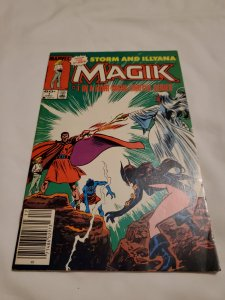 Magik 1 Very Fine- Cover by John Buscema