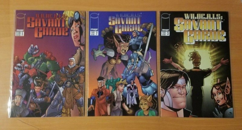 WILD C.A.T.S Savant Garde 1-3 FAN Complete Set Run! ~ NEAR MINT NM ~ 1997 Image