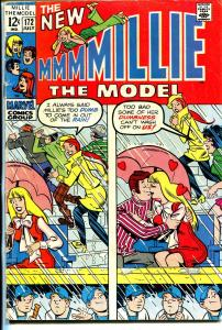 Millie The Model #172 1969-Marvel-Chili appears-fashion pages-VG