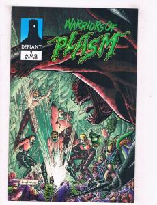 Warriors Of Plasm #1 NM Defiant Comics Modern Age Comic Book Aug 1993 DE44