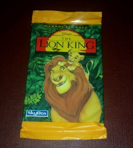 The Lion King (Movie) Trading Card Pack Series 1