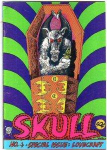 Skull #4 (Jan-72) VF Mid-Grade