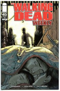WALKING DEAD WEEKLY #11, NM, Zombies, Horror, Robert Kirkman, 2011, Brains,Flesh
