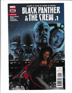 Black Panther & the Crew: We Are The Streets #1 (2017)