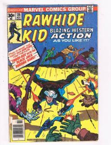Marvel Comics Group Rawhide Kid #136 GD Marvel Comic Book Western DE4