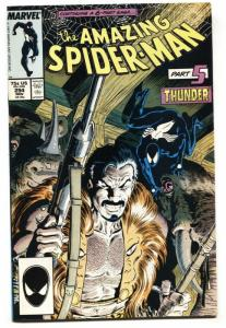 AMAZING SPIDER-MAN #294 Death of KRAVEN-1987-MARVEL COMICS NM-
