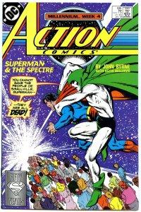 Action Comics 596 Jan 1988 NM- (9.2)