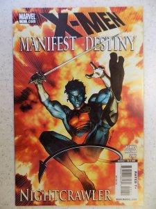 X-Men: Manifest Destiny: Nightcrawler #1 (2009)