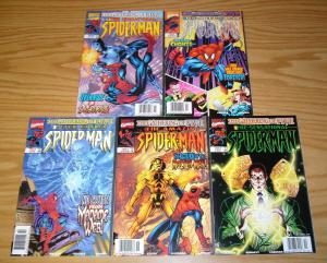 Spider-Man: the Gathering of Five #1-5 VF/NM complete story - all newsstand