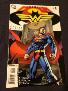 Trinity #9 DC Comics (2008) VF Superman Batman and Wonder Woman