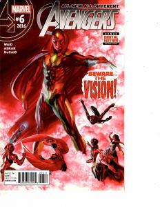 Lot Of 2 Comic Books Marvel All-New Avengers #6 and New Avengers #1  ON10