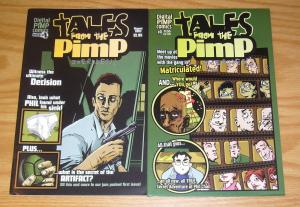 Tales From The Pimp #0-1 VF/NM complete series - signed set