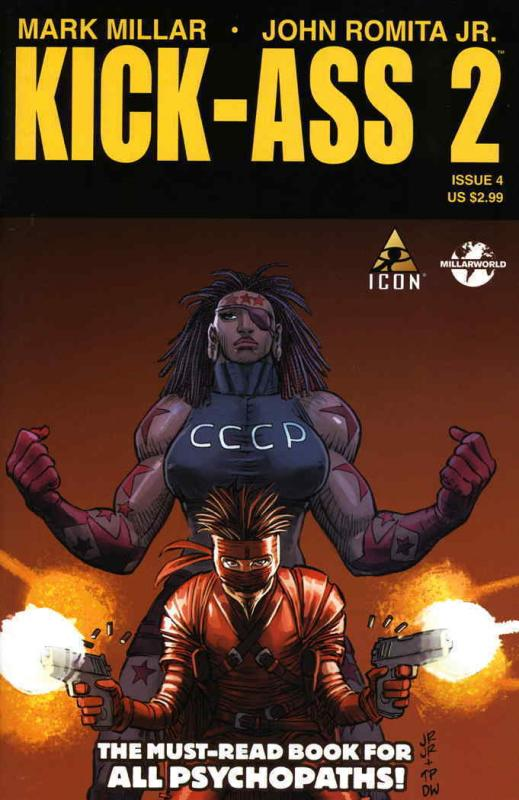 Kick-Ass 2 #4 VF/NM; Marvel | save on shipping - details inside