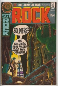 Our Army at War #227 (Jan-71) VF+ High-Grade Easy Company, Sgt. Rock