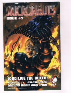 Micronauts # 2 DDP Comic Books Awesome Issue Modern Age WOW!!!!!!!!!!!!!!!!! S31