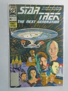 Star Trek The Next Generation #1 6.0/FN (1989 2nd Series)