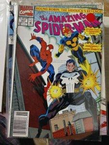 Amazing Spider-Man  #357 round robin pt 5 nova night thrasher moon knight punish