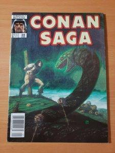 Conan Saga #34 ~ NEAR MINT NM ~ 1990 Marvel Comics