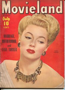 Movieland-Lana Turner-Walter Pidgeon-Maureen O'Hara-March-1943